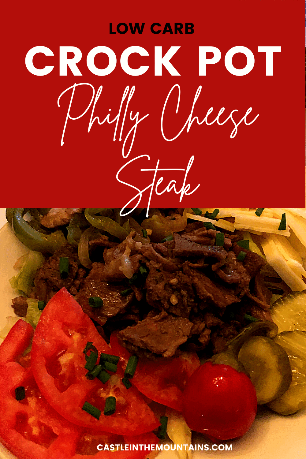 Crock Pot Philly Cheese Steak