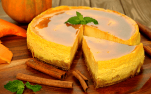 Instant Pot Bourbon Keto Pumpkin Pie Cheesecake