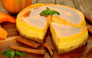 Instant Pot Bourbon Keto Pumpkin Pie Cheesecake