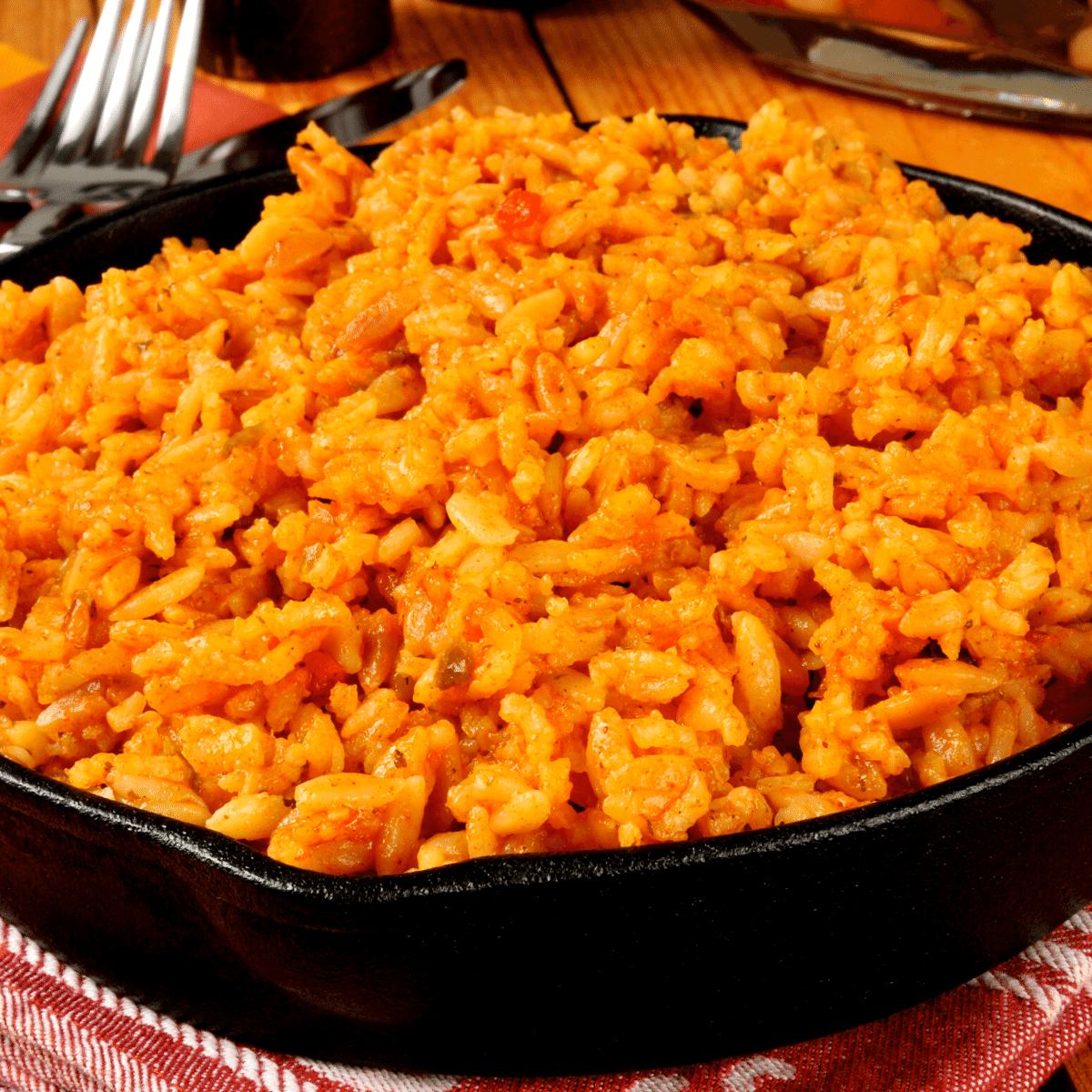 Low Carb Spanish Cauliflower rice FI