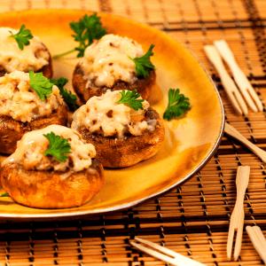 Low Carb Stuffed Mushrooms FI