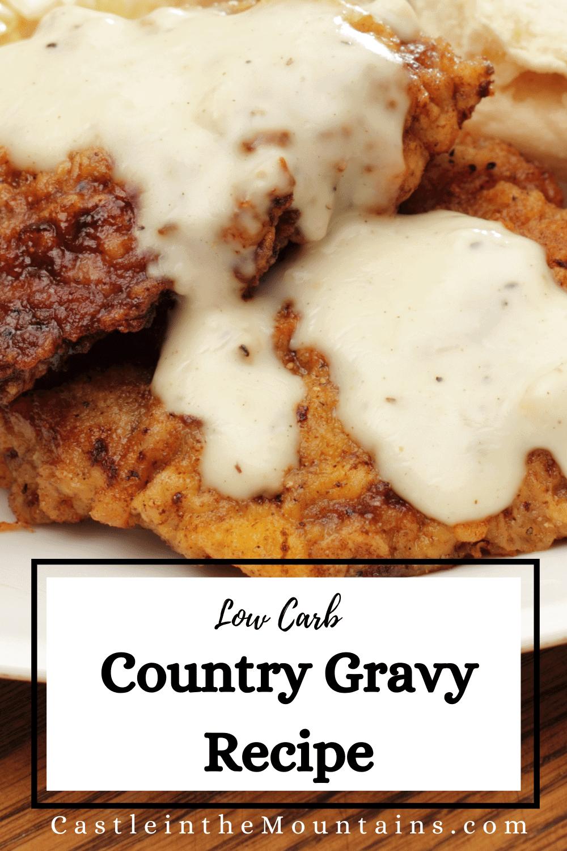 White Gravy - How to make the best Keto gravy.