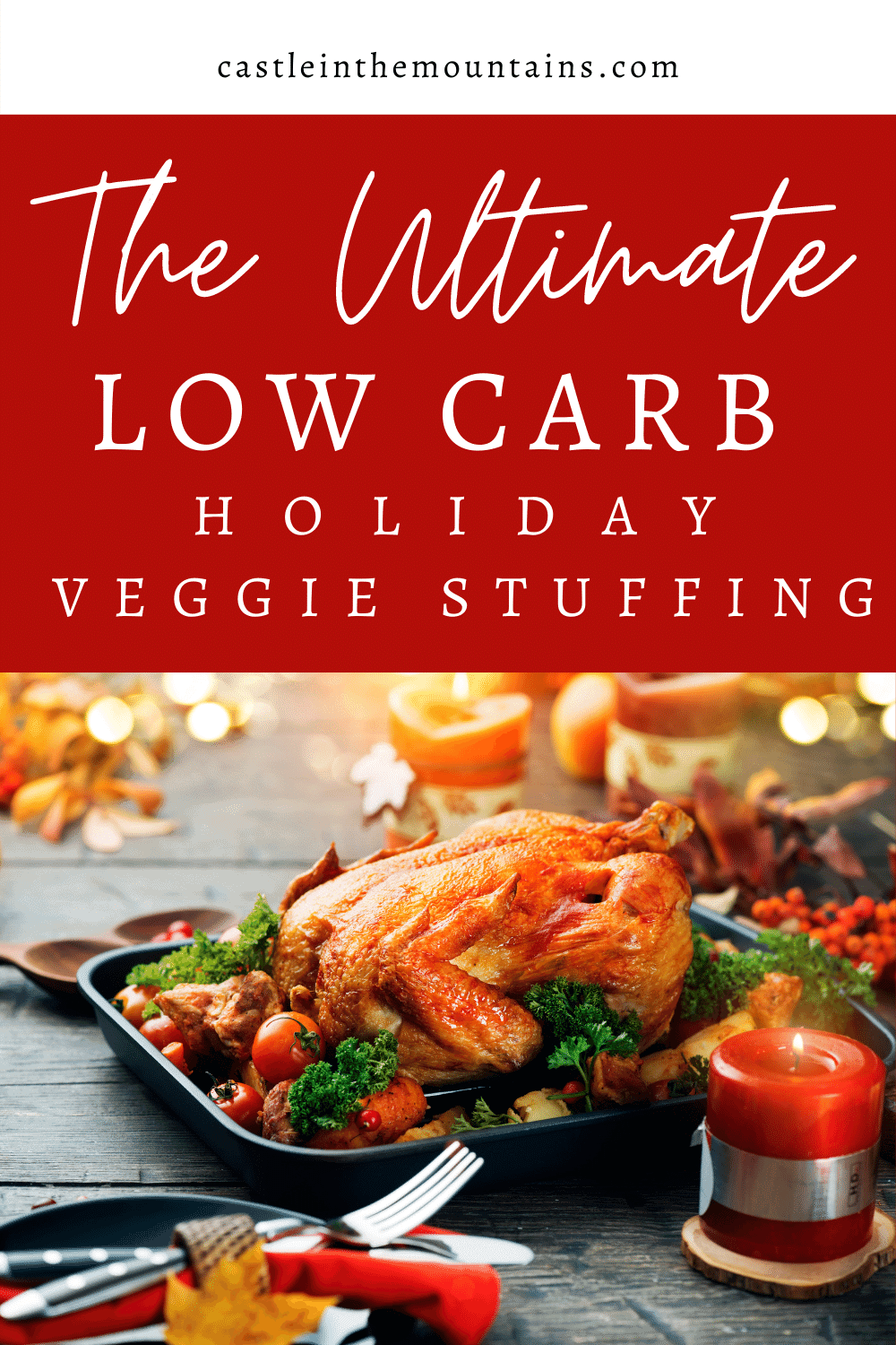 Vegetable Holiday Stuffing - How to make low carb stuffing great!
