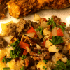 Low carb veggie holiday stuffing fi