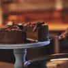 Nut free devils food cake served