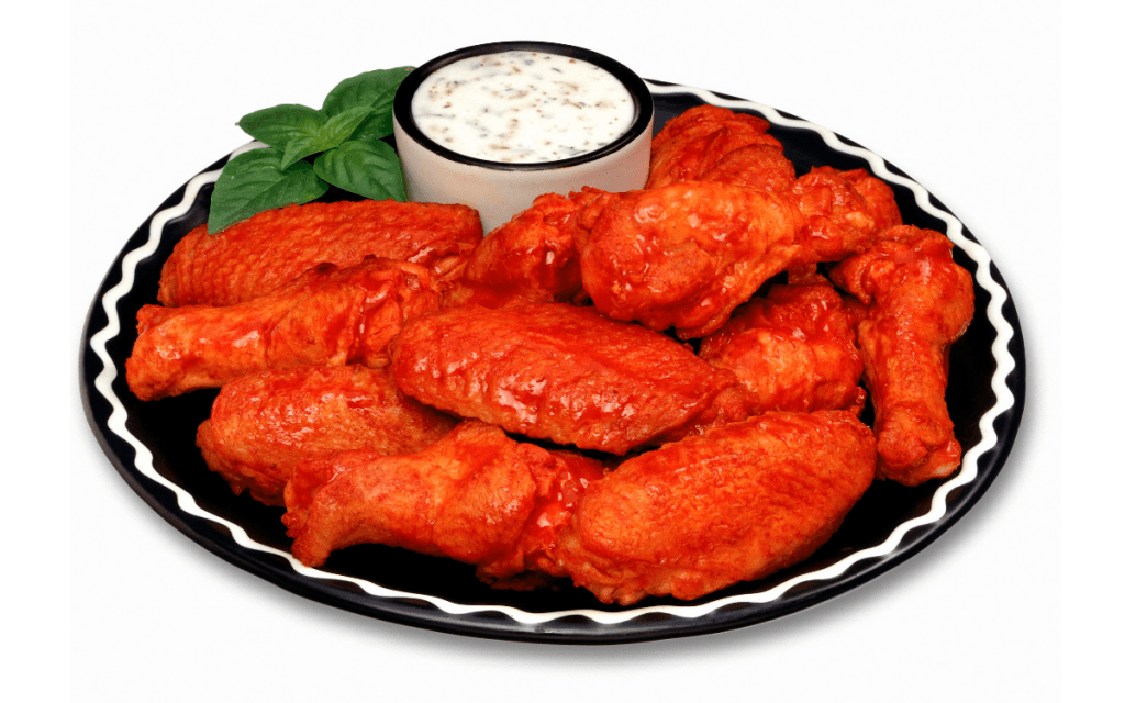 Low Carb Buffalo Sauce on Wings