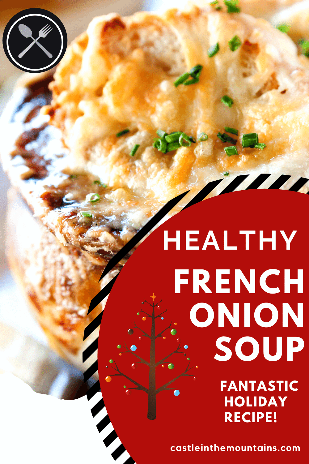Healthy French Onion Soup - How to get the classic taste with fewer carbs.