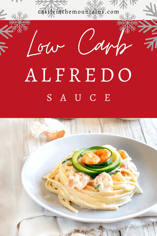 Alfredo Sauce - How to make Keto Friendly Alfredo Sauce.