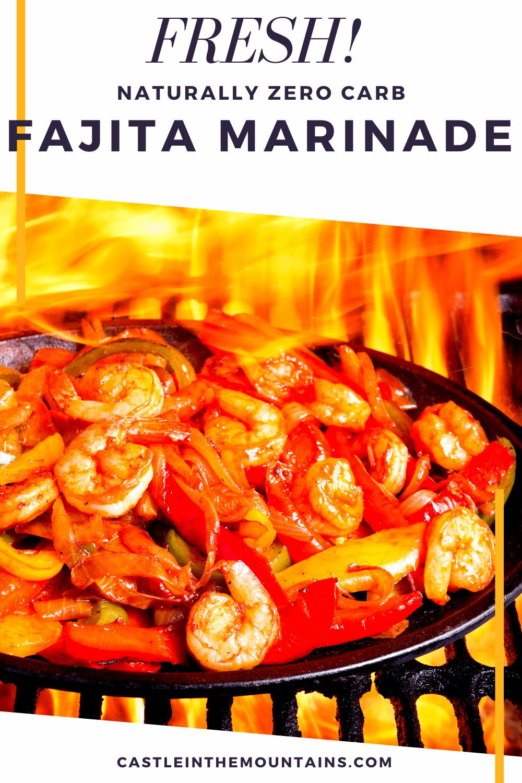 Simple Fajita Marinade - Perfect for Beef, Chicken or Shrimp
