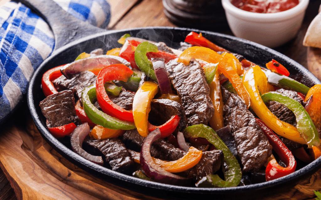 Steak Fajitas for Low Carb Fajita Marinade