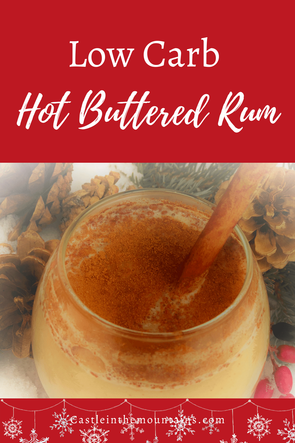 Hot Buttered Rum - How to make Christmas in a Cup!