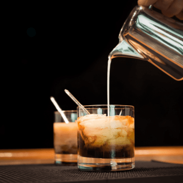 Low Carb White Russian FI