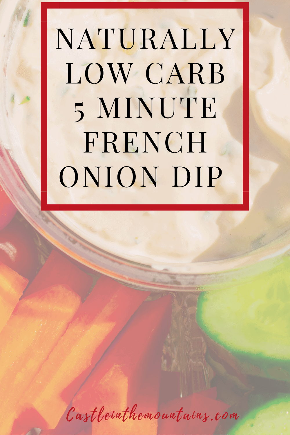 French Onion Dip - How to make Classic Onion Party Dip
