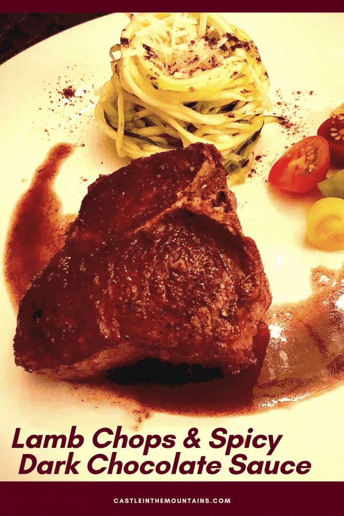 Low carb lamb with spicy chocolate sauce pins (1)
