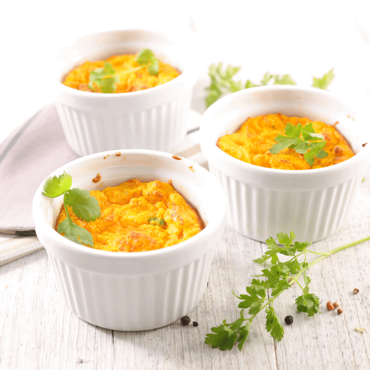 Low carb savory pumpkin souffle FI
