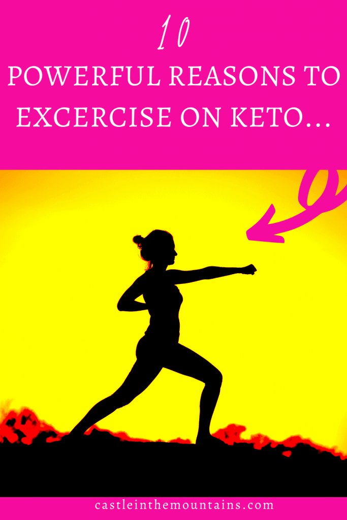 10 powerful reasons to excercise on keto Pins