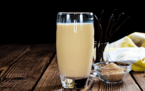 Served Easy Flax Milk Recipe