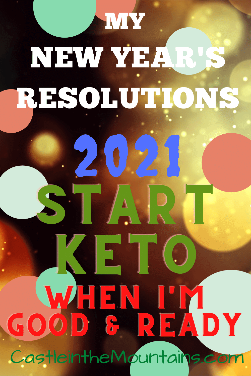 New Years Resolution - Why You Shouldn\'t do the Keto Diet