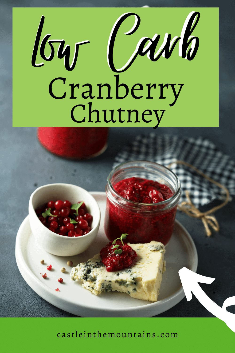 Cranberry Chutney- How to make a sweet and spicy chutney.