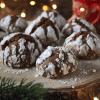 Chocolate Crinkle Cookies - How to make Fudgy Keto Cookies.