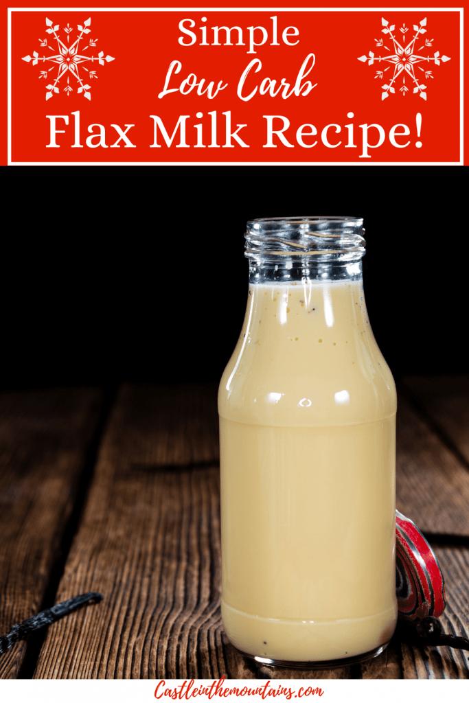 Low Carb Flax Milk Pins (5)