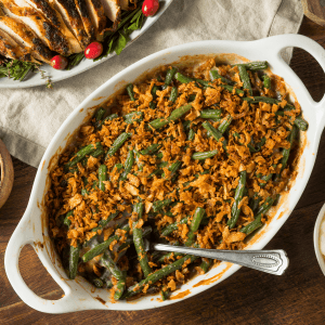 Low Carb Green Bean Casserole FI