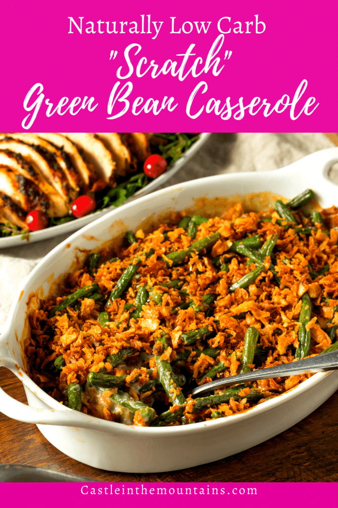Low Carb Green Bean Casserole pins (1)