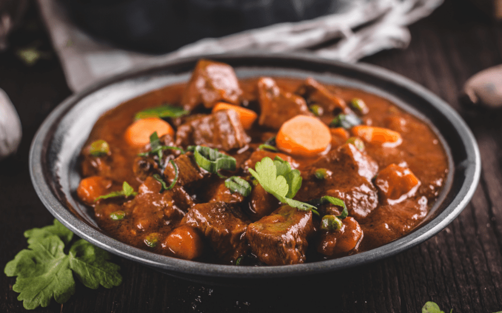 Healthy Lamb Stew Low Carb Slow Cooker Recipe