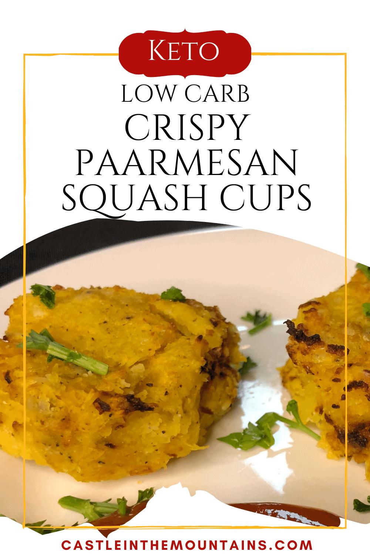 Parmesan Crispy Squash Cups - How to make crispy squash.