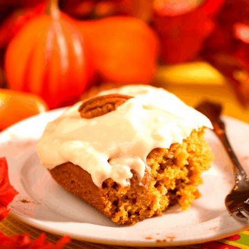 Low carb Pumpkin Cake FI
