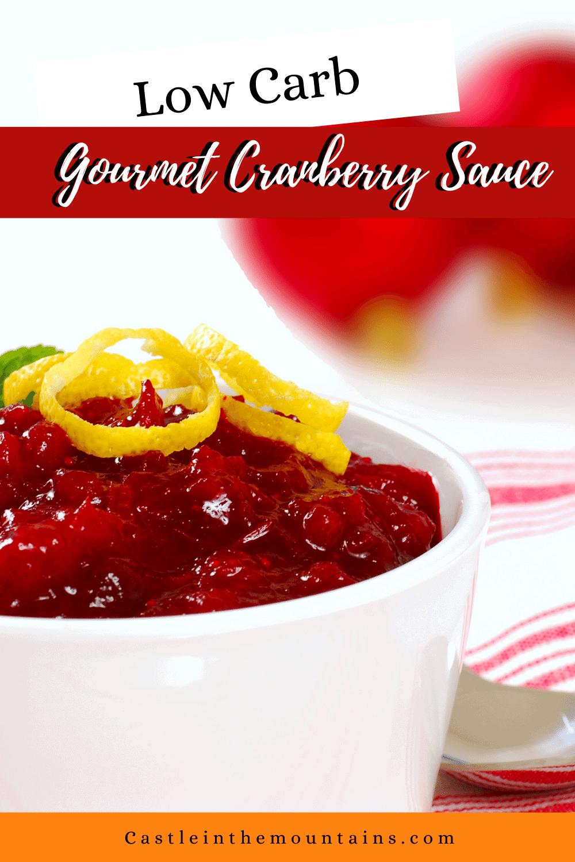 Low Carb Cranberry Sauce - Make Amazing Cranberry Sauce