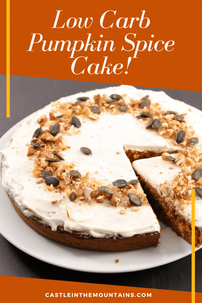 Low carb pumpkin Cake Pin (4)