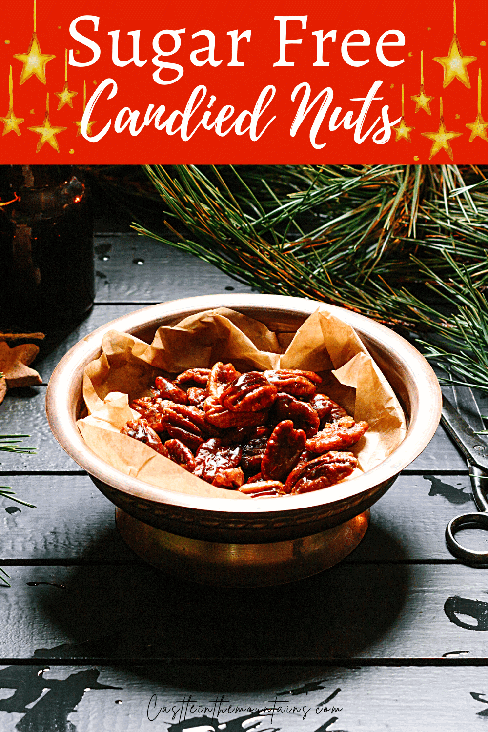 Candied Nuts - How to Make Low Carb Candied Nuts