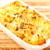 Cauliflower Cheese Bake - How to make cauliflower cheese casserole.