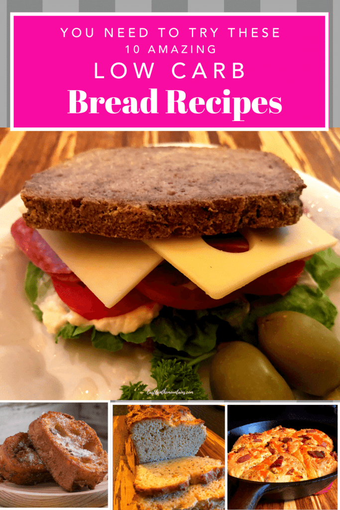 10 Keto Bread recipes Pins