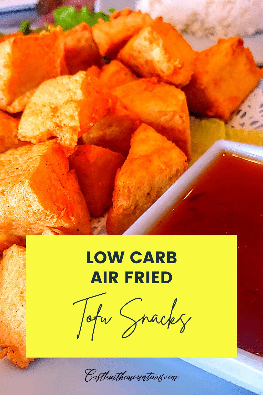 Crispy Fried Tofu - How to Air Fry Tofu fast!