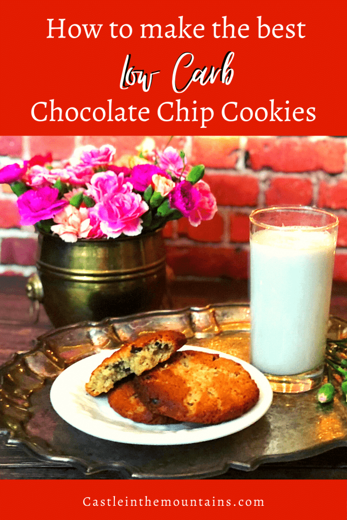 Low Carb Chocolate Chip Cookies Recipe Pins (1)