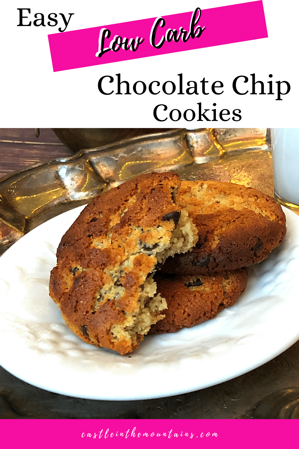 Chocolate Chip Cookies - How to make this simple Keto Cookie!