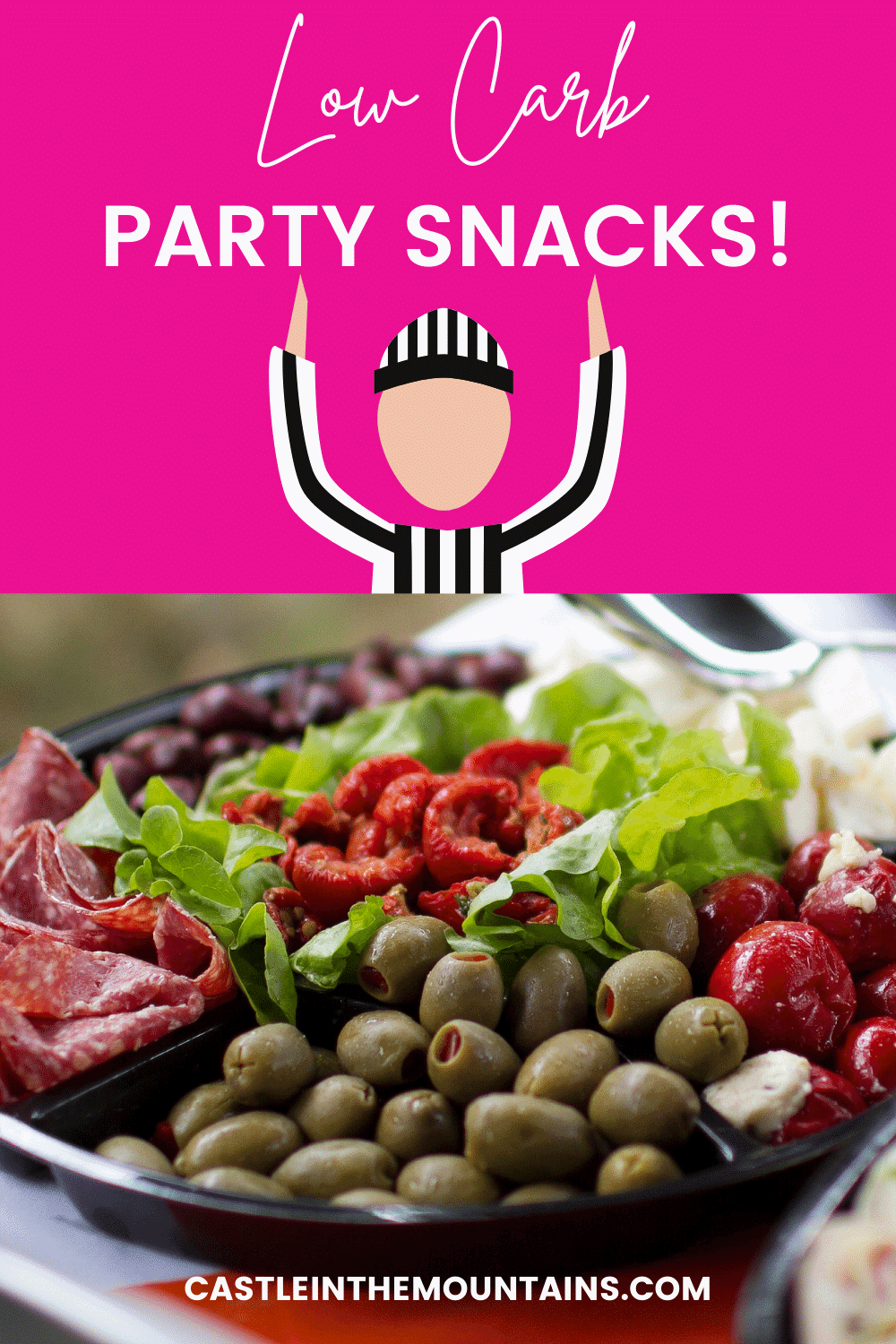 Party Snack Recipes - How to keep Keto at a party!