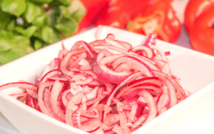 Served Pickled Onions