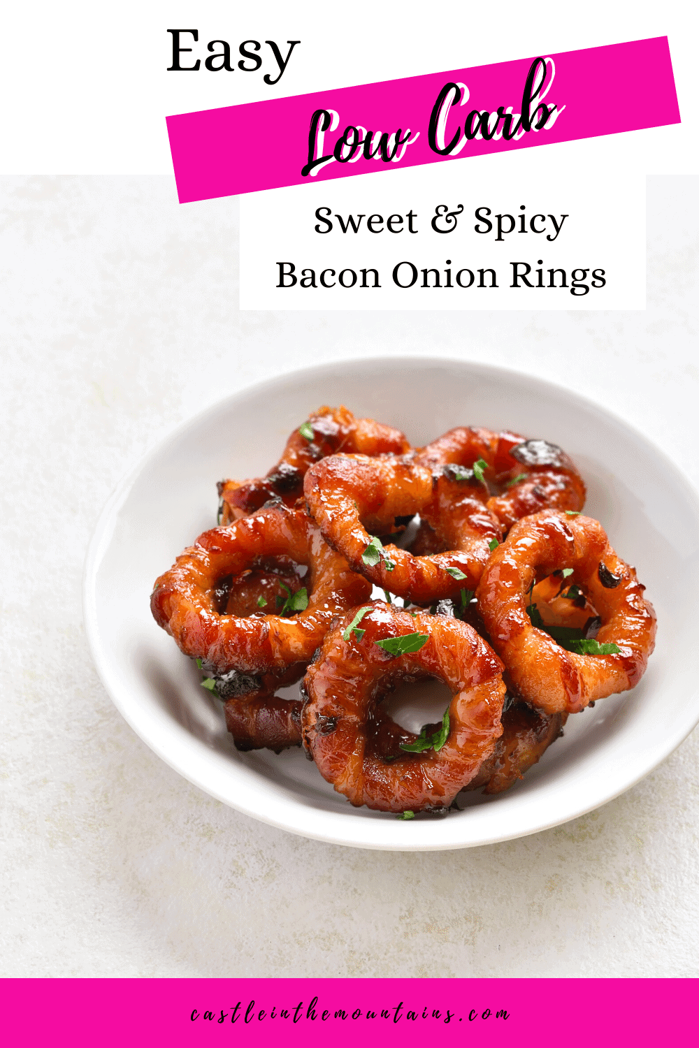 Bacon Onion Rings - How to make this genius snack!
