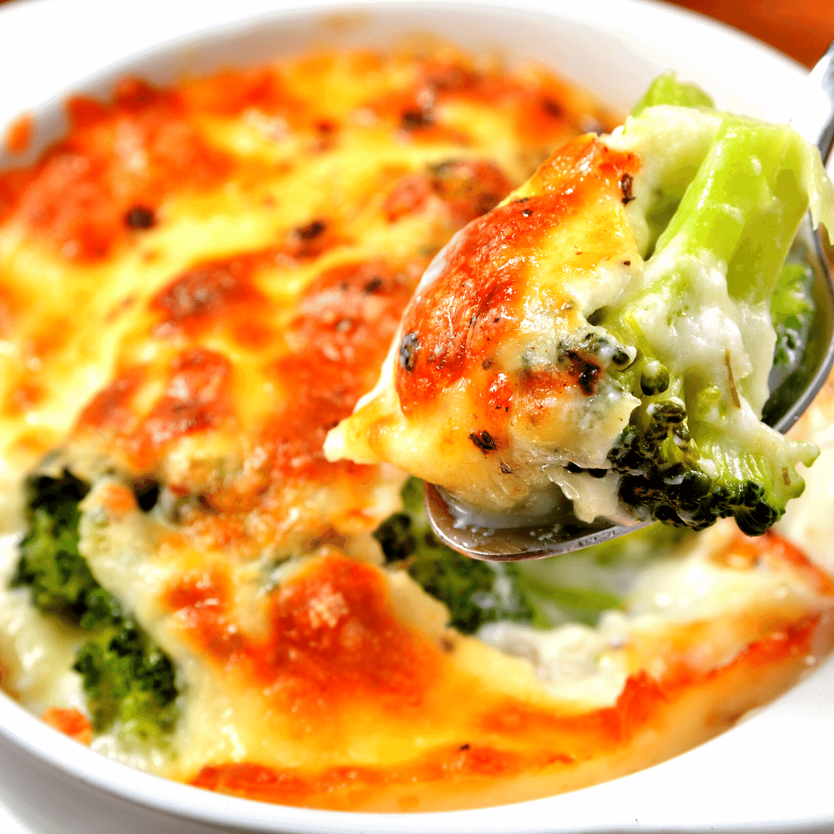 Low Carb Broccoli Gratin Recipe FI