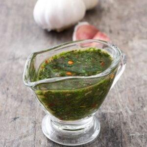 Low Carb Chimichurri Sauce FI
