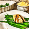 Tahini Cream Green Beans - How to make green beans gourmet.