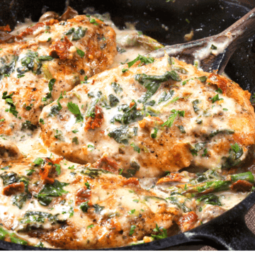 Low Carb Tuscan Chicken