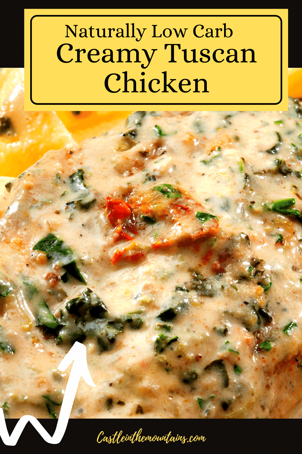 Creamy Tuscan Chicken - How to make Pollo Toscano!