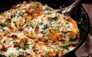 Simmering Chicken