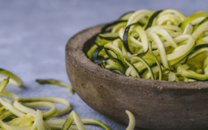 Bowl of zoodles