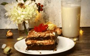 Served Keto Chocolate Peanut Butter Lush