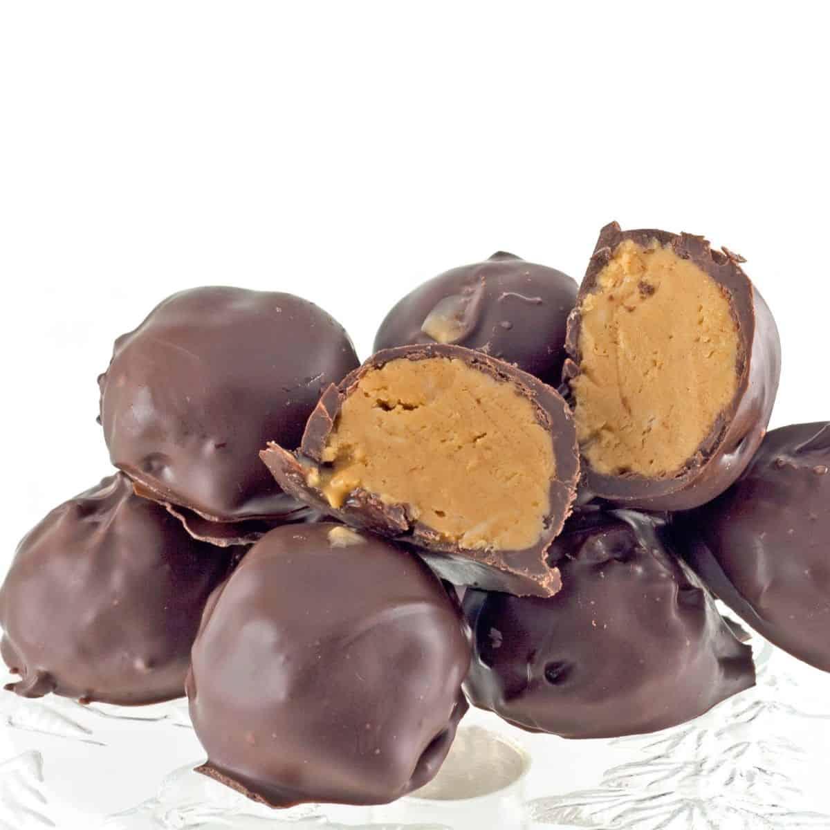 Keto Peanut Butter Cup Truffles FI